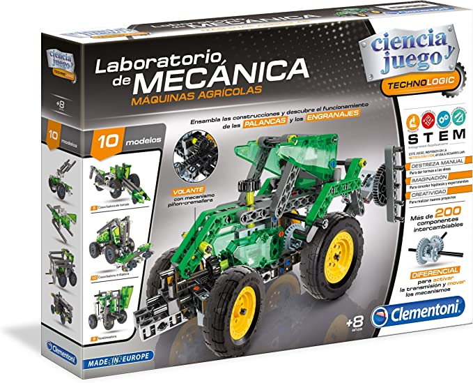 Clementoni- Laboratorio de mecánica, maquinas agrícolas ...