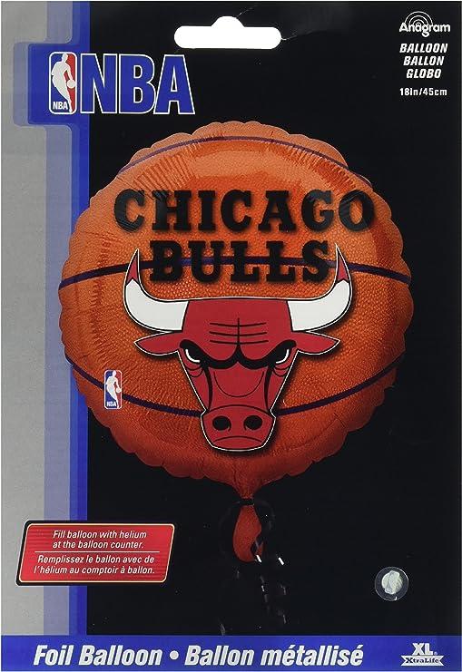 Amscan de pelota de baloncesto Chicago Bulls - para fiesta de ...