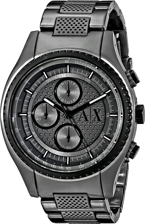 Armani Exchange Men s AX1606 Gunmetal Watch