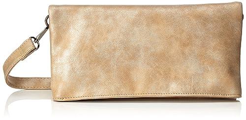 Handbag - Sonja, Carteras de mano Mujer, Beige (Sand), 2x14x28 cm