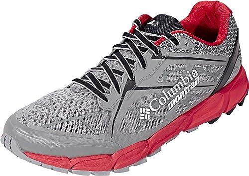 Columbia Caldoro II - Zapatillas de Running para Hombre, Hombre, Charcoal/Bright Red, US 11 | EU 44: Amazon.es: Deportes y aire libre