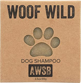 product image for Woof Wild Organic, Vegan, Cruelty Free, Dog Shampoo Bar for Dogs with Sensitive Skin, Handmade by A Wild Soap Bar