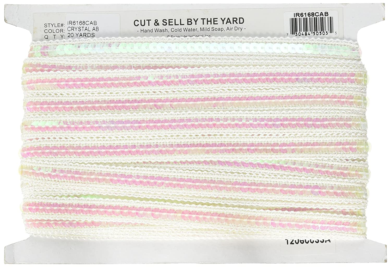 20-Yard Purple Expo International Single Row Sequin with Sparkle Edge Trim