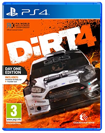 Dirt 4 Day One Edition (PS4): Amazon co uk: PC & Video Games