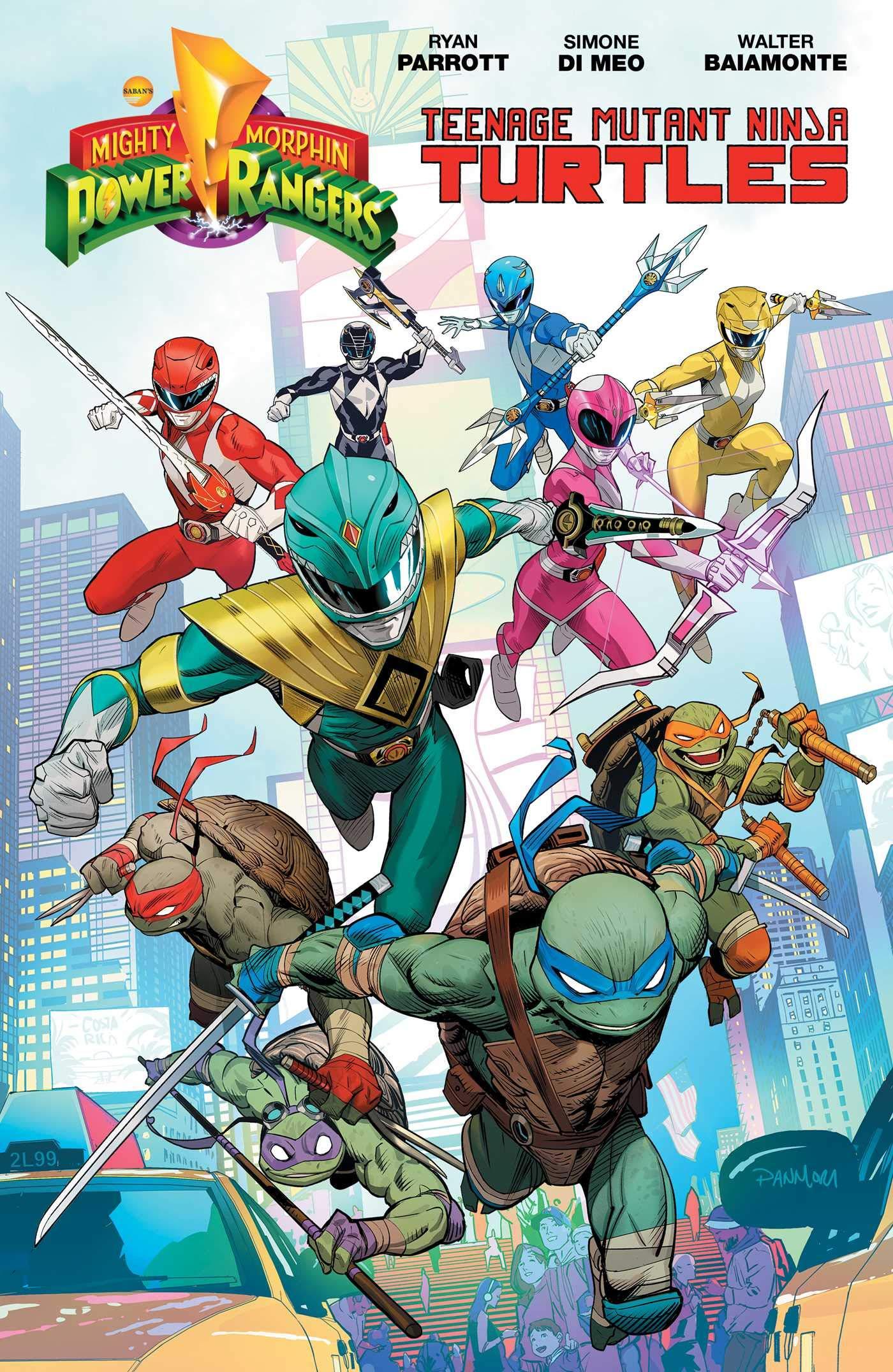 Amazon.com: Mighty Morphin Power Rangers/Teenage Mutant ...