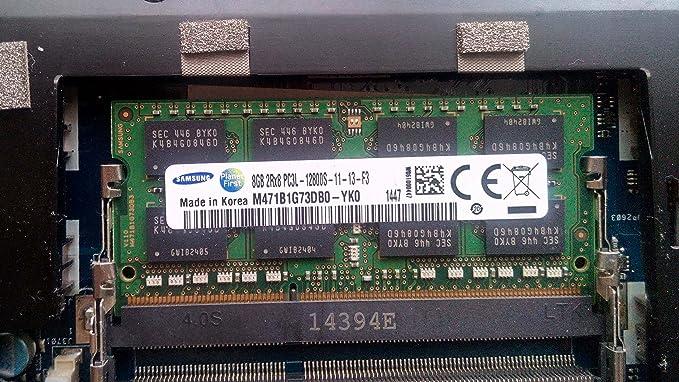 Samsung 8GB DDR3 SO-DIMM - Memoria RAM de 8 GB: Amazon.es: Informática