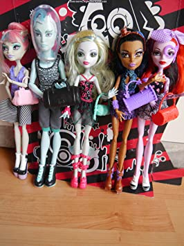 Amazon.es: Mattel Monster High - Dance Class, Pack de 5 muñecas ...