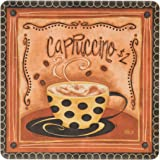 "CoasterStone AS9030 Absorbent Coasters, 4-1/4-Inch, ""Nostalgic Coffee"", Set of 4"