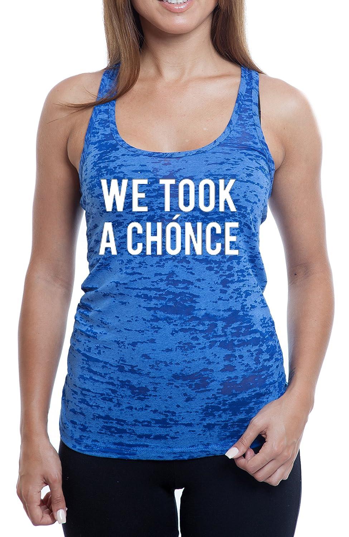 Women's We Took a Chonce Burnout TankTop
