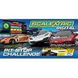 Scalextric Digital C1296 Pit Stop Challenge 1:32 Scale Race Set