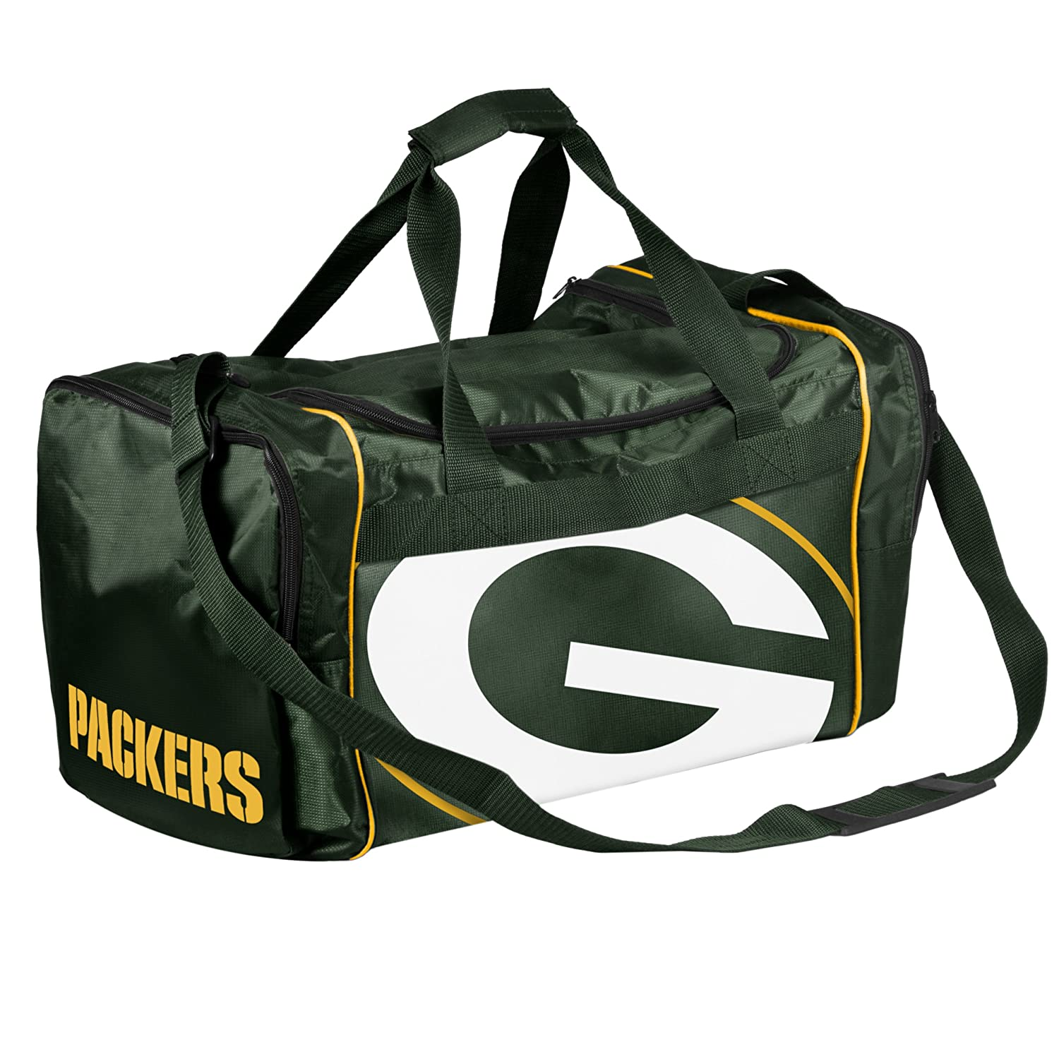 2a2e819243a4 Amazon.com   FOCO NFL Green Bay Packers Core Duffle Bag   Sports Fan Duffel  Bags   Sports   Outdoors