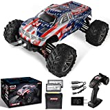 BEZGAR 6 Hobbyist Grade 1:16 Scale Remote Control Truck, 4WD High Speed 42 Km/h All Terrains Electric Toy Off Road RC…