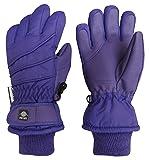 N'Ice Caps Kids Bulky Thinsulate and Waterproof Ski Glove with Ridges