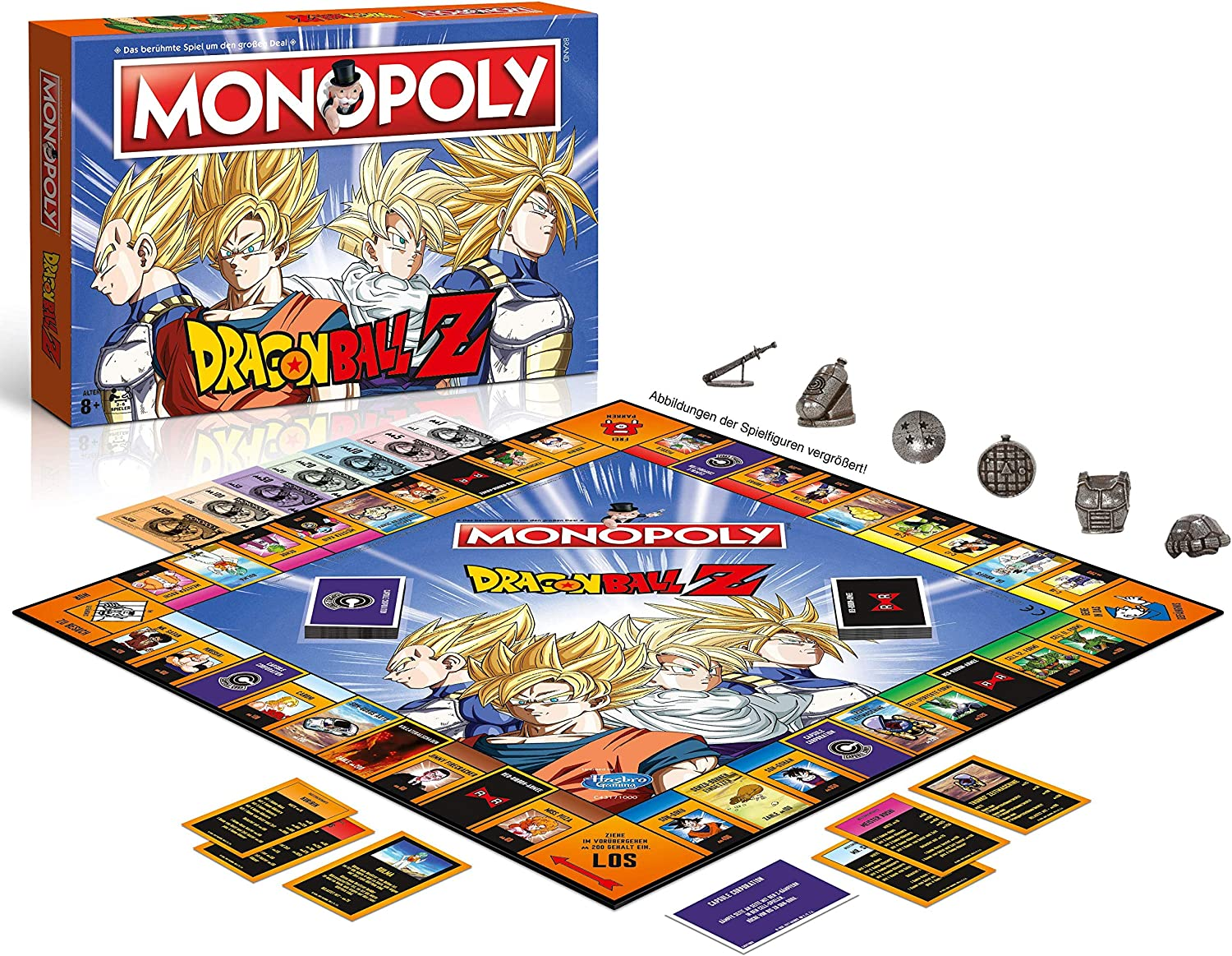 Winning Moves- Monopoly-Dragonball Z Accesorios:, Color Dragon Ball z, estándar (44857): Amazon.es: Juguetes y juegos