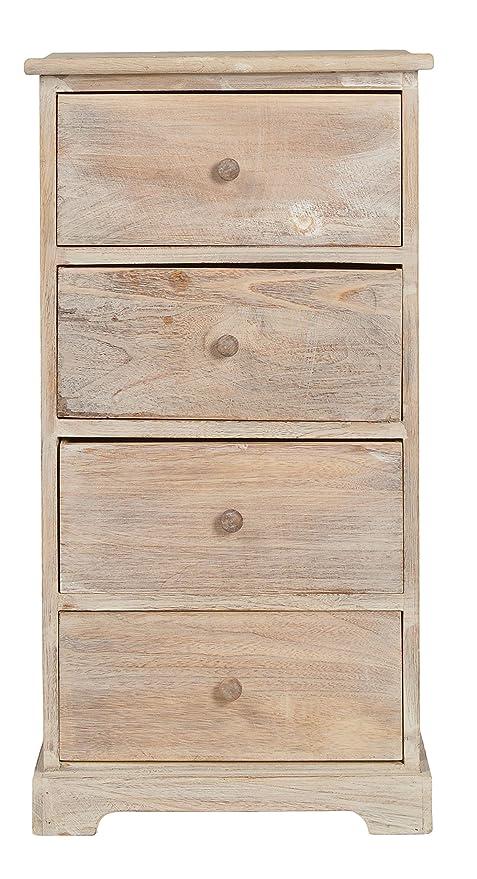 ts-ideen Cómoda estantería de madera estilo de la alquería ...