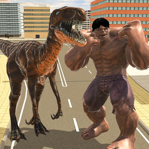 Multi Jurassic Dino Hero]()