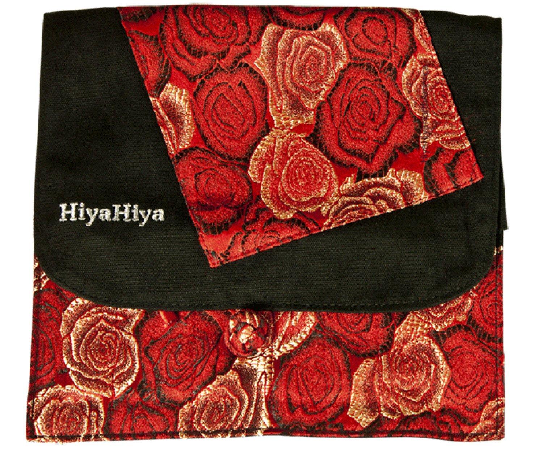 HiyaHiya Interchangeable Knitting or Crochet Needle Cases (red & black)