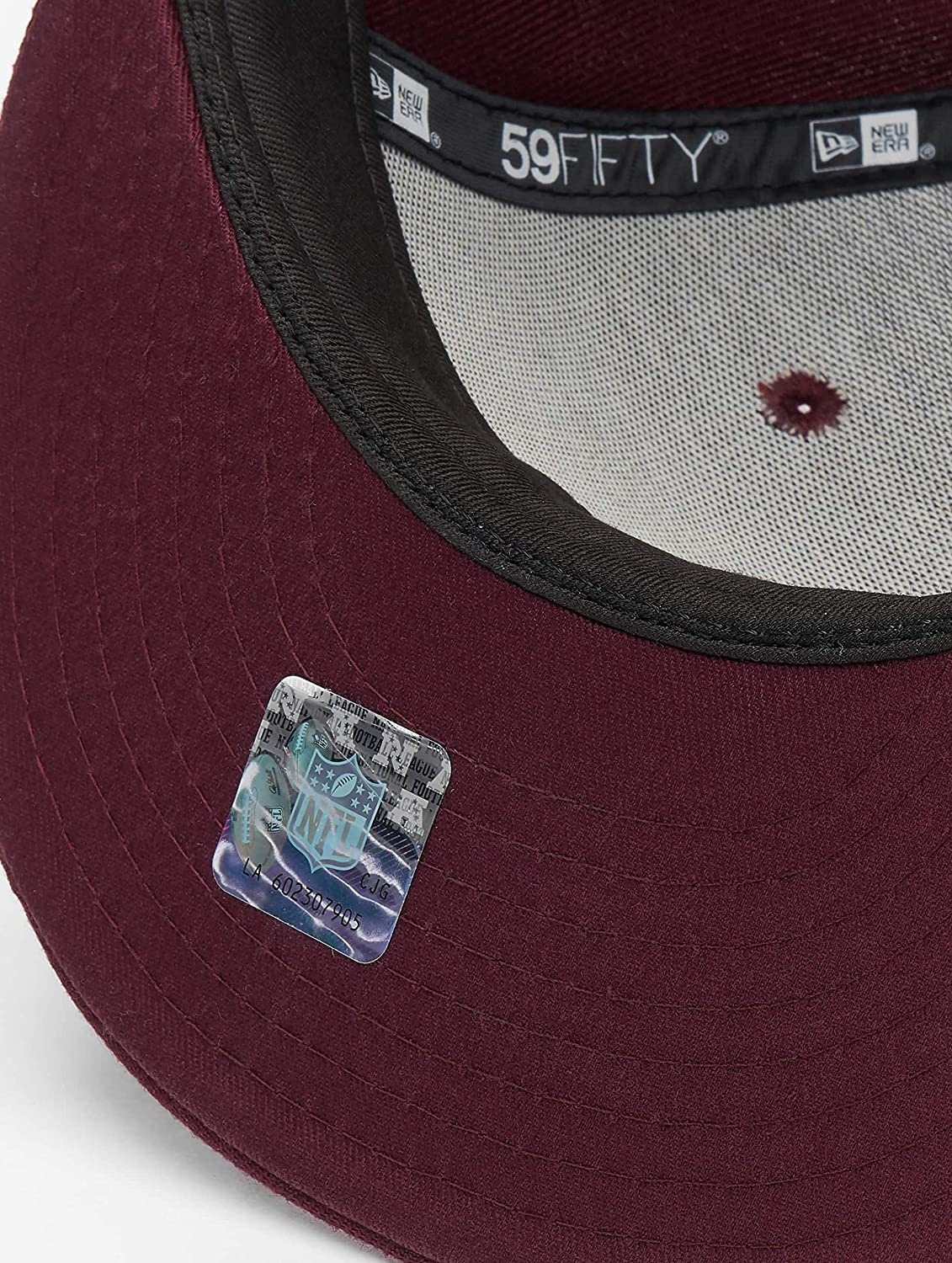 New Era Arizona Cardinals Maroon Poly Tone Cap 59fifty Fitted Limited Edition