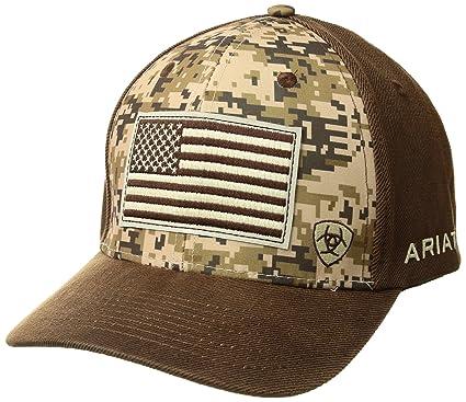 8b843e495 Ariat Men's Digital Camo Front Cap