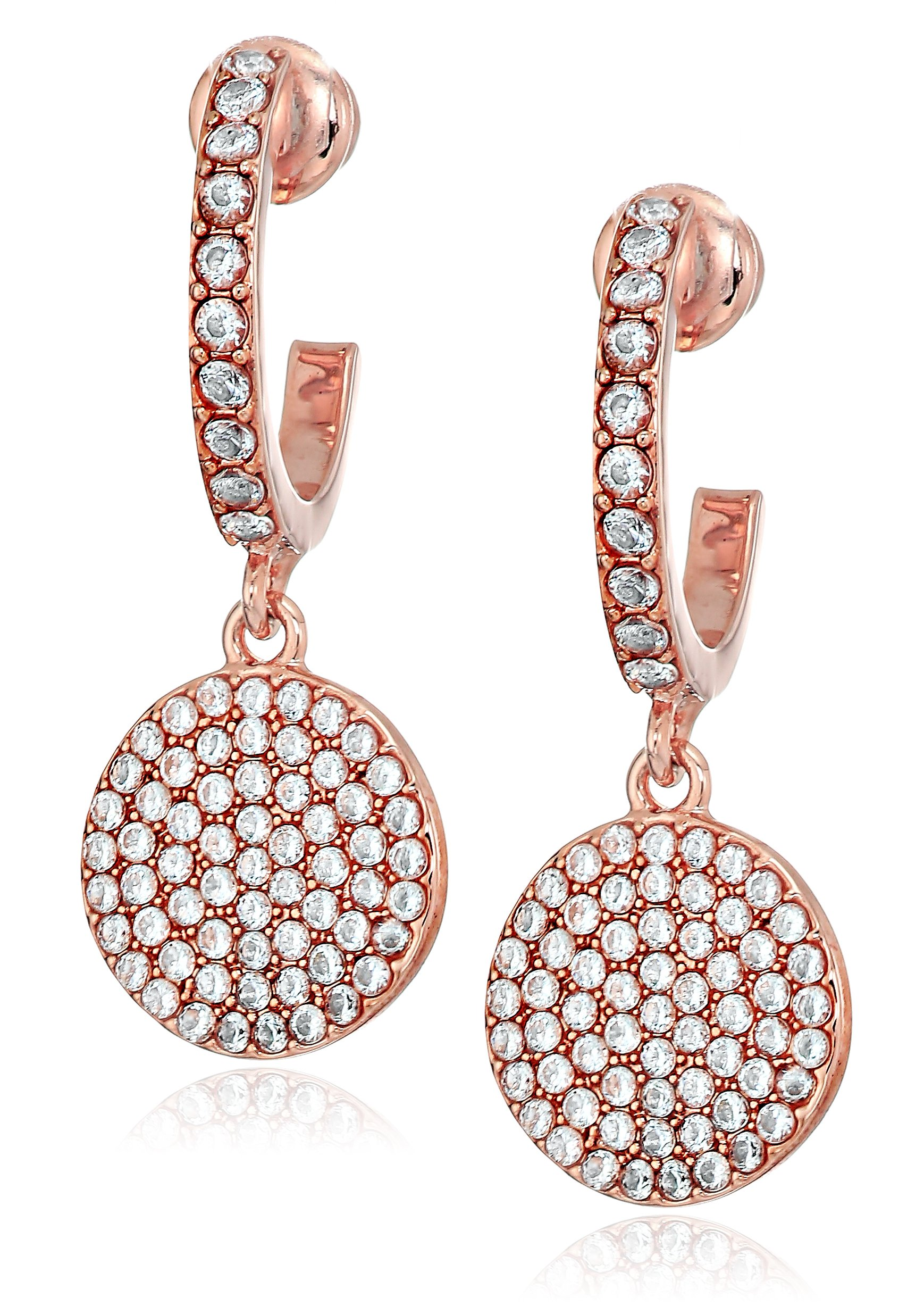 kate spade new york''Pave Drop Earrings'' Shine On Drop Earrings Blush Drop Earrings