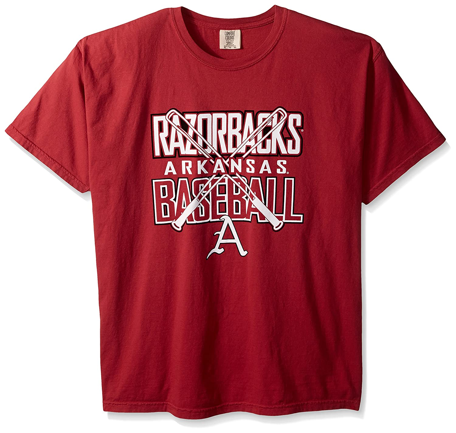 大量入荷 NCAA Razorbacks Arkansas Razorbacks NCAA Baseball Bats半袖快適カラーTシャツ、Chili Arkansas、Chili B01N550MUG, 【オンラインショップ】:cd69048f --- a0267596.xsph.ru