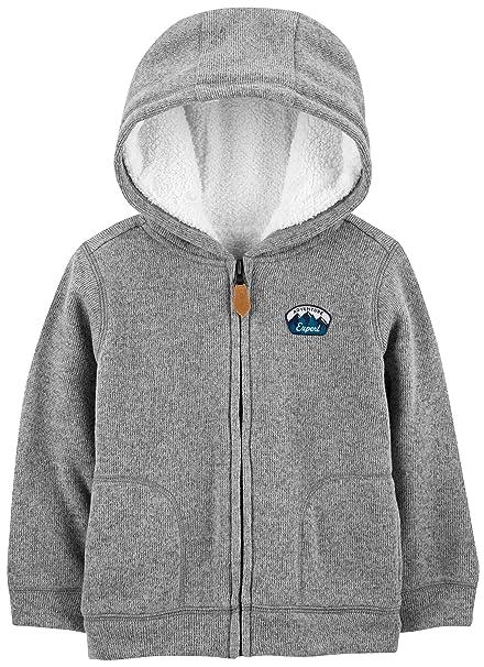 a2525c7b0 Amazon.com  Simple Joys by Carter s Toddler Boys  Hooded Fleece ...