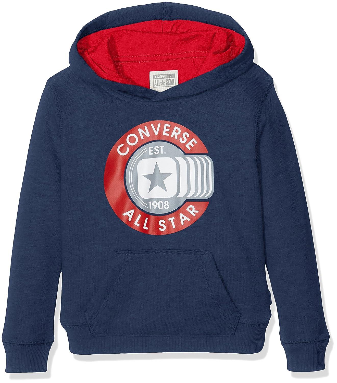 Converse CNV6363S, Sudadera con Capucha Para Niños, Azul (All Star ...
