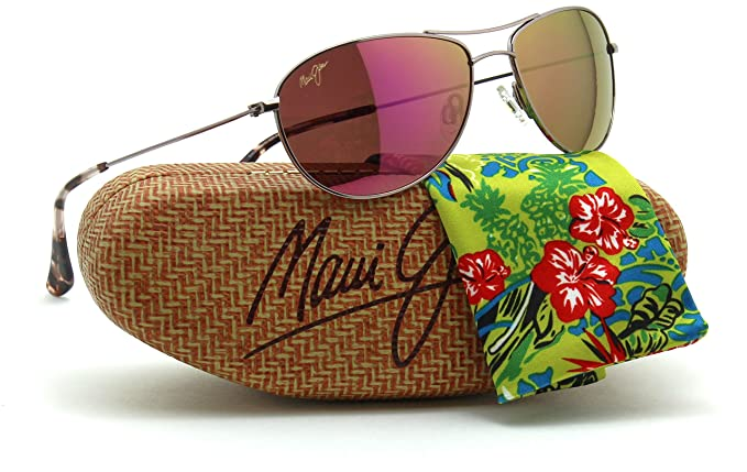 e31ef27499 Maui Jim P245-16R Baby Beach Polarized - MAUI Sunrise - Pink: Amazon.co.uk:  Clothing
