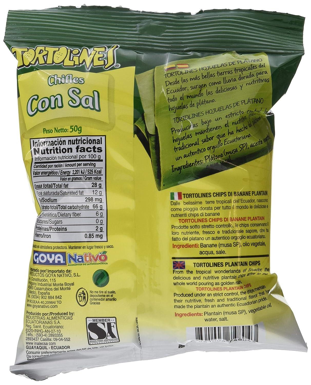 Goya Chifles Sal Tortolines Pequeño - Paquete de 24 unidades: Amazon.es: Alimentación y bebidas