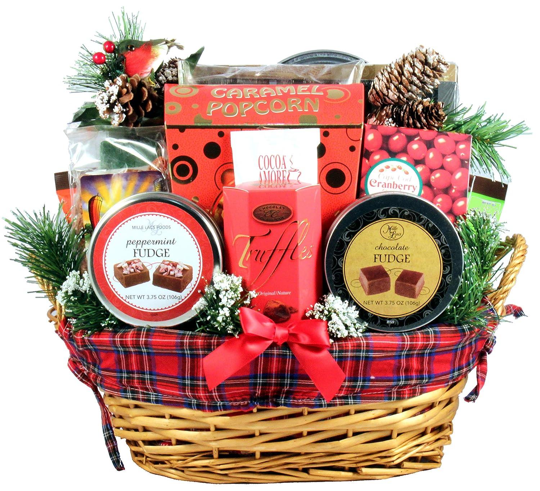 Christmas Baskets.Amazon Com An Old Fashioned Christmas Gift Basket A