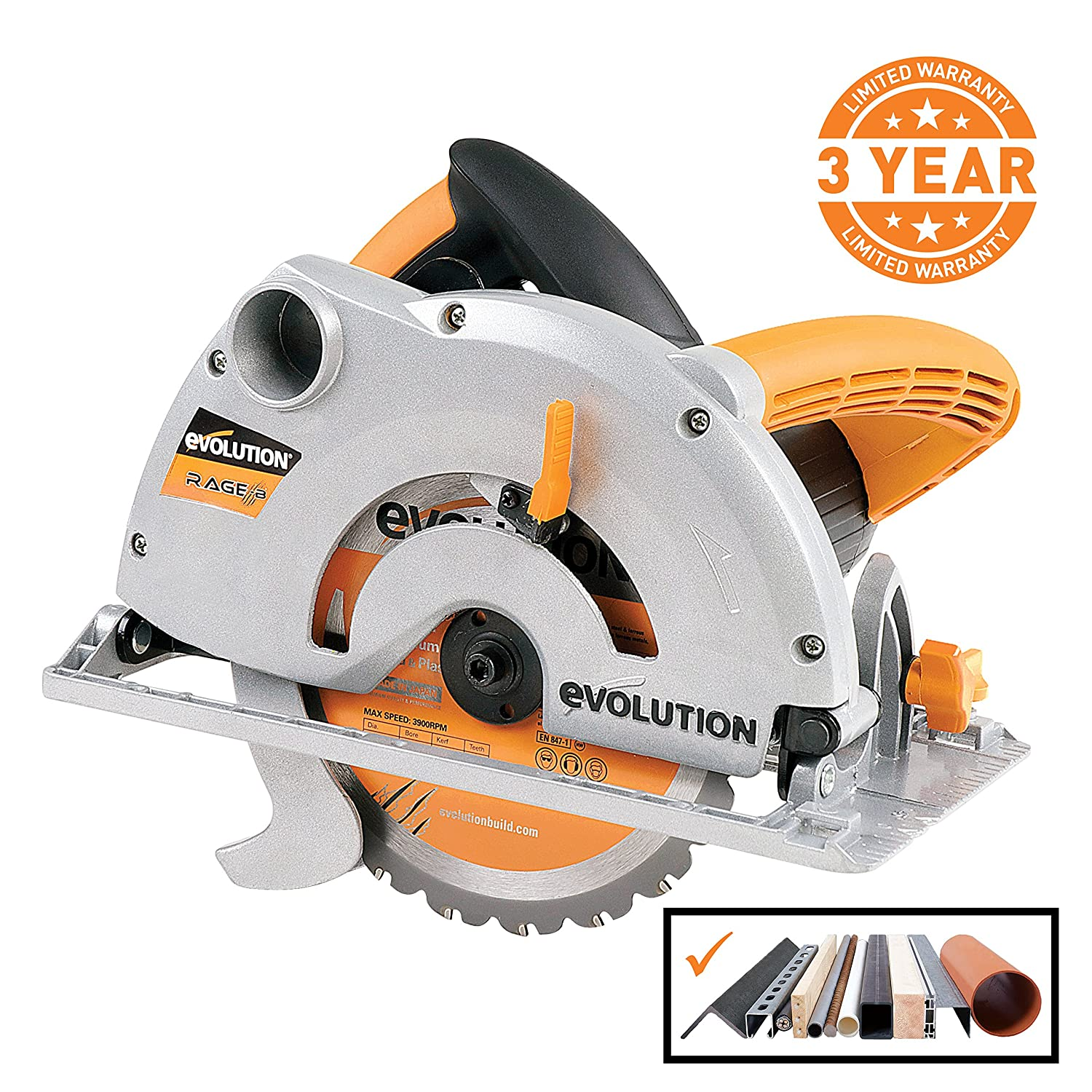 Evolution Power Tools RAGE-B