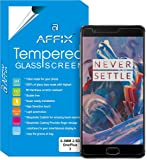 """Affix Premium Tempered Glass For OnePlus 3 / OnePlus Three / 1+3 / One Plus 3T / OnePlus 3T (5.5"""" Display) with installation Kit"""