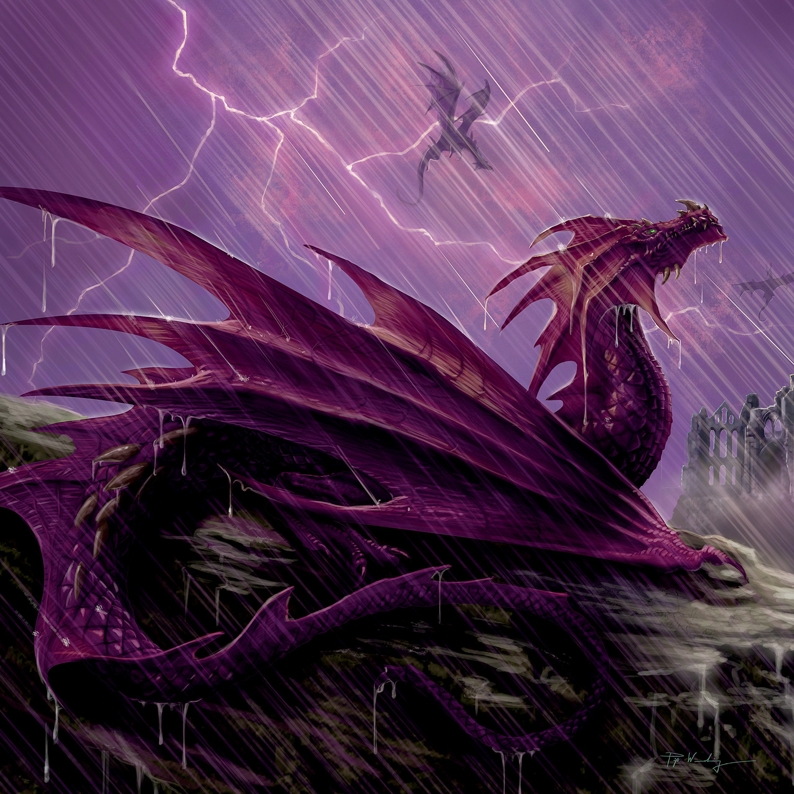 Llewellyn's 2019 Dragon Calendar by Llewellyn Publications (Image #4)