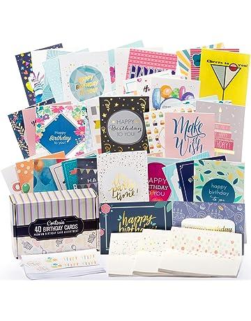 Happy Birthday Cards Bulk Premium Assortment
