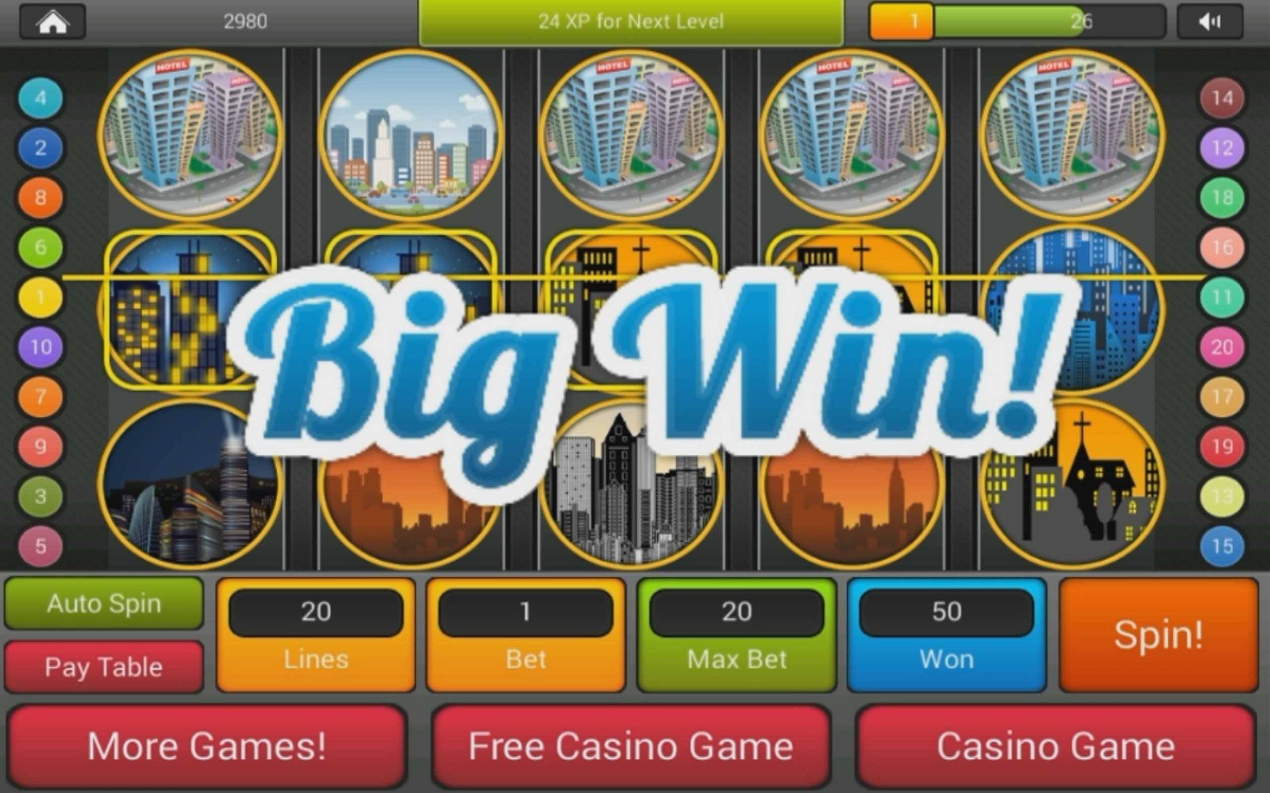 Slots top jackpots at grand city casino games for List of slot machines at motor city casino