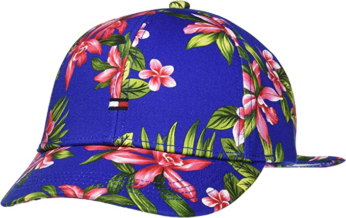 Tommy Hilfiger BB Cap Print Gorra, Azul, Large (Talla del ...