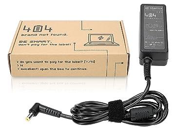 404Brand Cargador Adaptador para Ordenador Portátil para Dell Inspiron Duo (19V, 1.58A, 30, 5.5: Amazon.es: Electrónica
