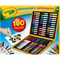 Crayola - 10651 - Crayons de couleurs et feutres - Mallette de coloriage de l'artiste