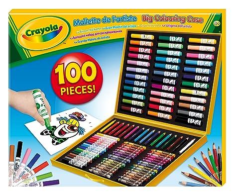 Crayola Maletín Para Colorear Con 100 Accesorios 4 Años