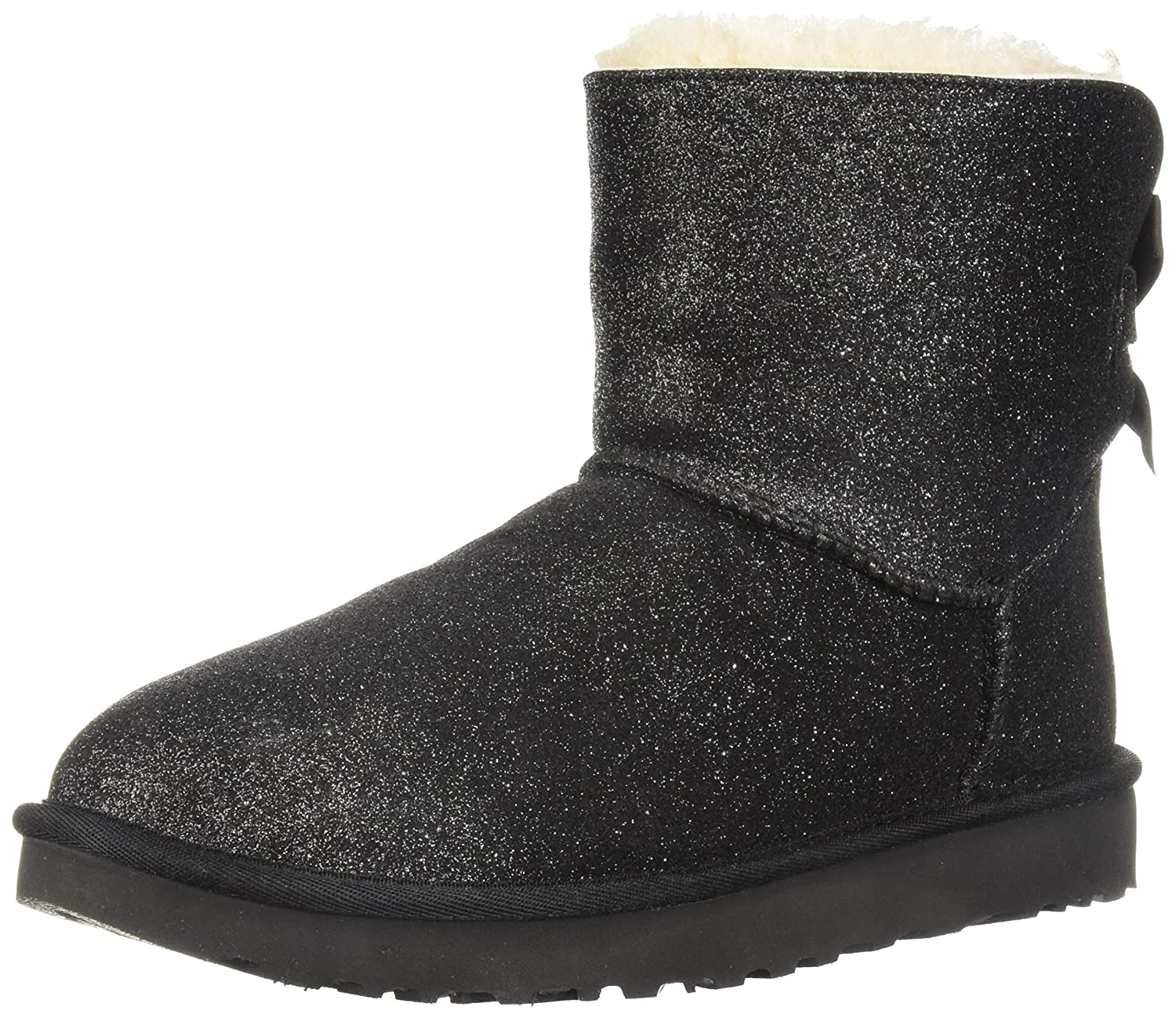 ce49f437968 UGG Mini Bailey Bow Sparkle 1100053 W/SLVR: Amazon.co.uk: Shoes & Bags