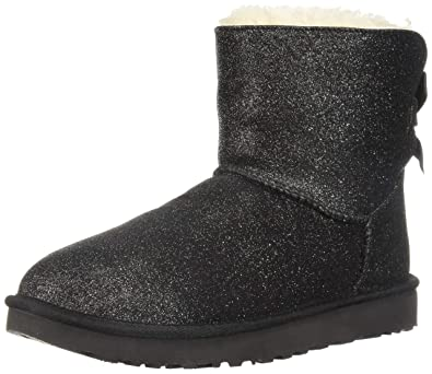 7ed16dec664 UGG Womens Mini Bailey Bow Sparkle Boot