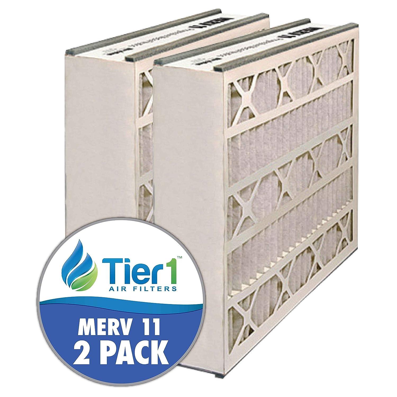 tier1 16 x 25 x 5 MERV 8 Trion Air Bear一般ab-51625 – 8 Comparable AC炉エアフィルタ – 2パック MERV:11 RDPAB051625M11 B00FW0VG7E   MERV:11
