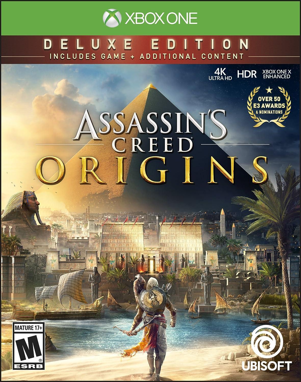 Amazon Com Assassin S Creed Origins Xbox One Deluxe Edition