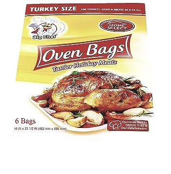 Horno Cocina bolsas plástico Turquía tamaño hasta 24lbs ...
