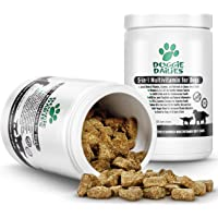 Doggie Dailies 5-in-1 Multivitamin for Dogs: 225 Soft Chews, Palm Oil Free Dog Multivitamin for Healthy Skin & Coat, Strong Joints, Improved Digestion, Heart Health & Enhanced Immunity, Made in USA
