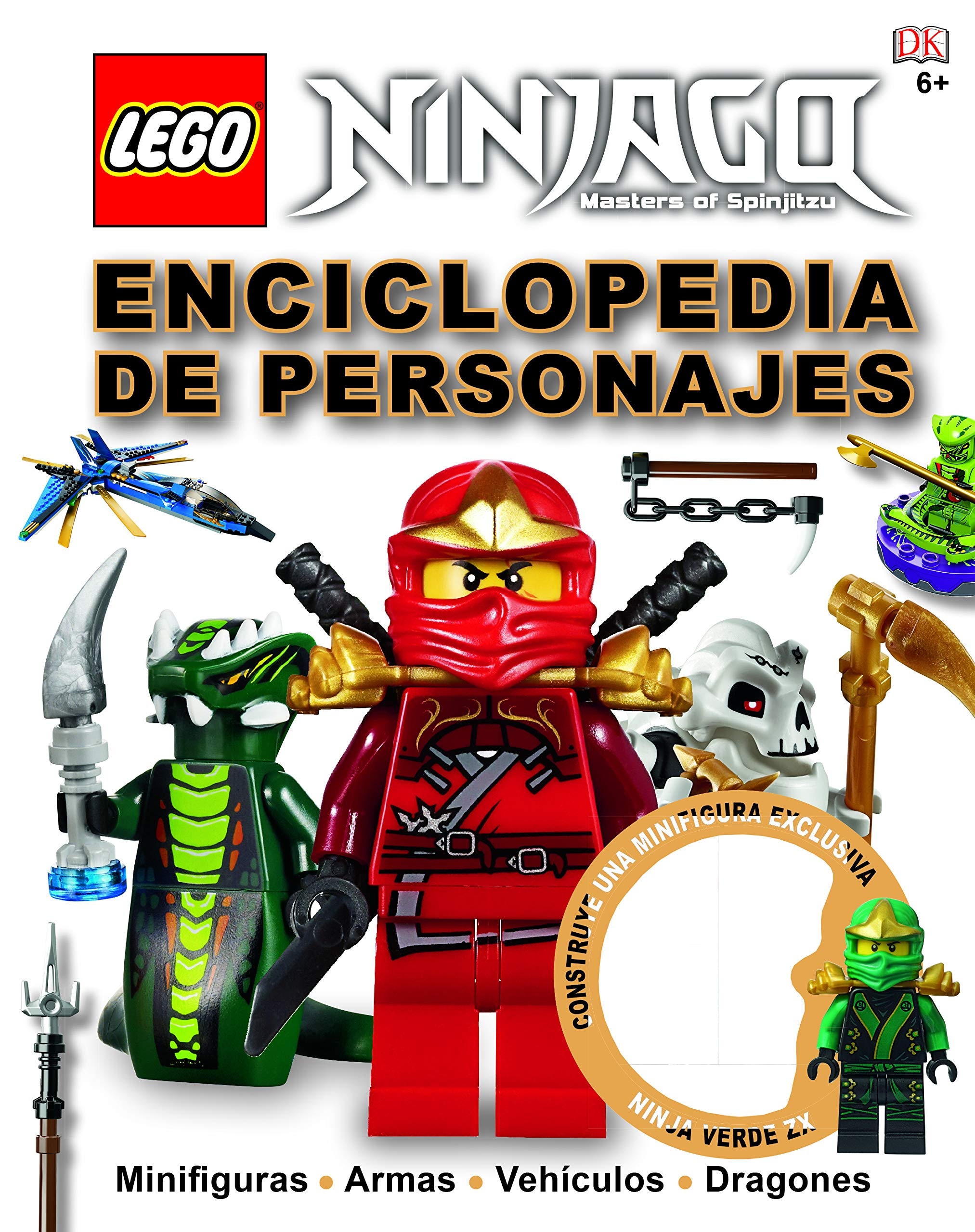 LEGO® Ninjago Character Encyclopedia: Amazon.es: Varios ...