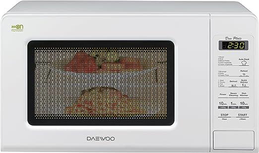 Daewoo kor-660b Horno a microondas 20 L, 700 W, blanco: Amazon.es ...