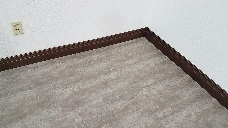 1,000 Square Feet Stoneridge Gray Travertine Tile-Look Rigid Core LVT Turtle Bay Floors Waterproof Click WPC Flooring