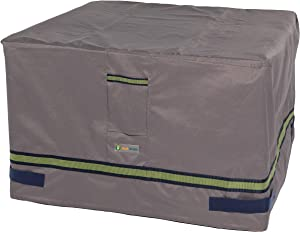 "Duck Covers Soteria Rainproof 40"" Square Fire Pit Cover"