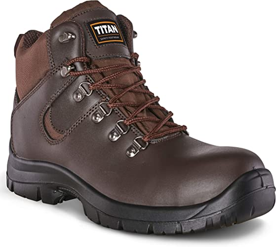 Mens Work Steel Toe Cap Safety Boots